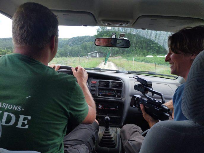 Intervju i bilen